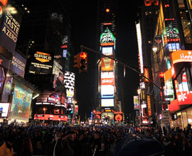 Attend New Years Eve in NY
