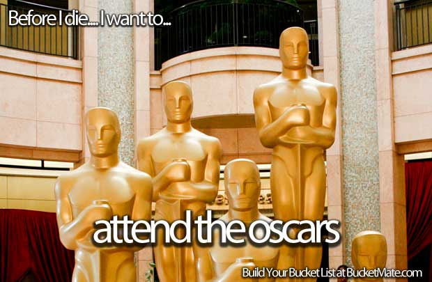 Attend the Oscars