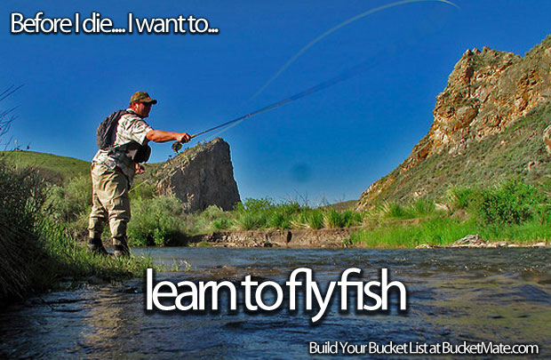 Learn to fly fish for Learn to fish
