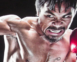 Take Punch from Pacquiao